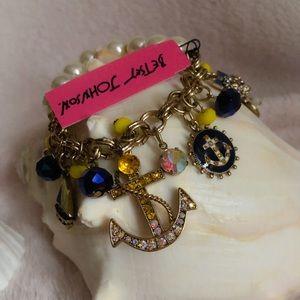 Betsey Johnson Nautical Bracelet